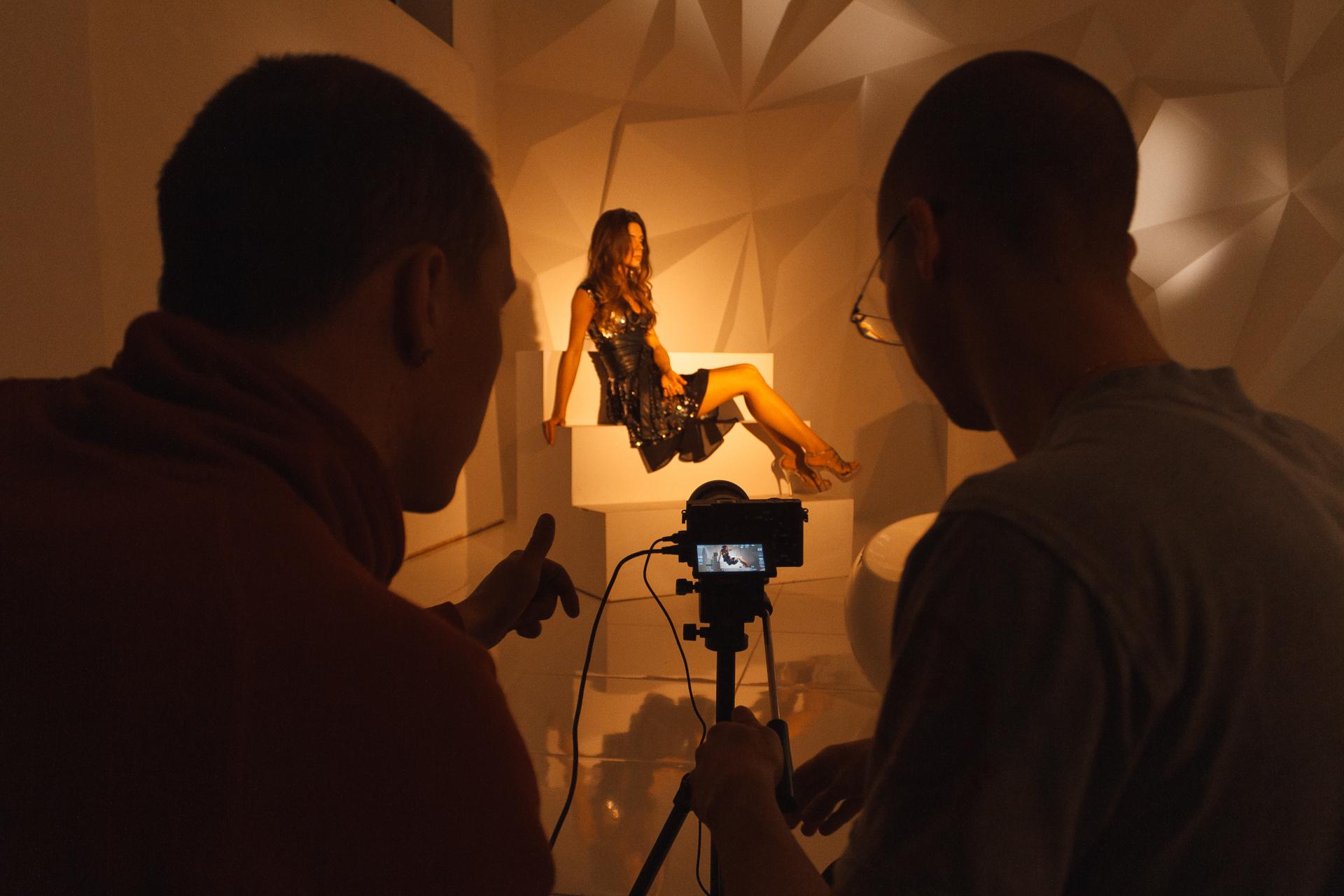 съемка клипа в Днепре студией Hunky Production